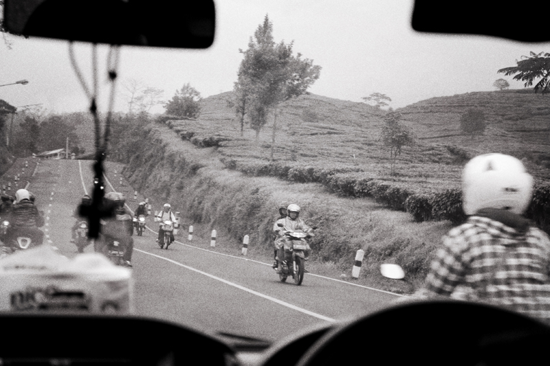 indonesian road grainy
