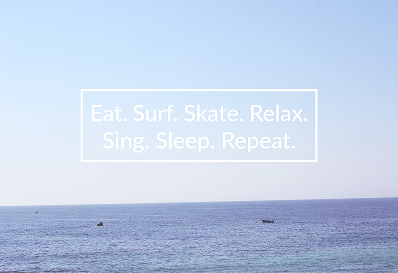 Free Surf Maroc: Eat. Surf. Skate. Relax. Sing. Sleep. Repeat.