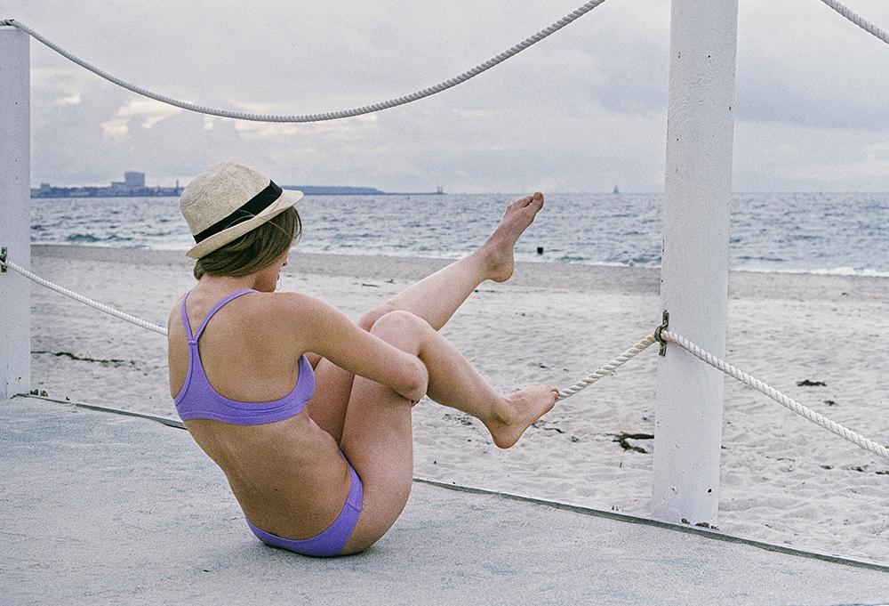 SIMH - Tinka Blu - Surf bikini Performer purple