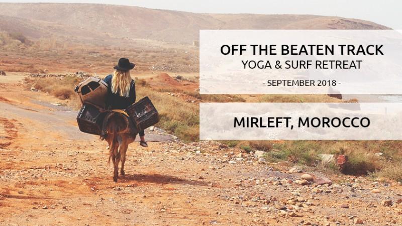 September 2018 – Surf & Yoga Retreat Morocco – Off the beaten track adventure