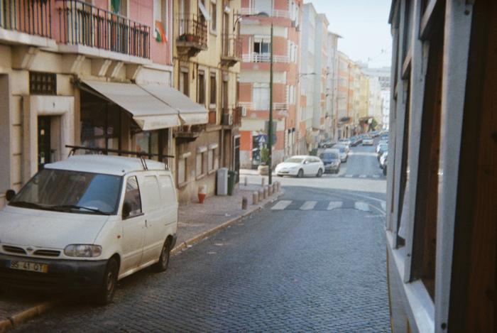 Bilbao Strassen Holga