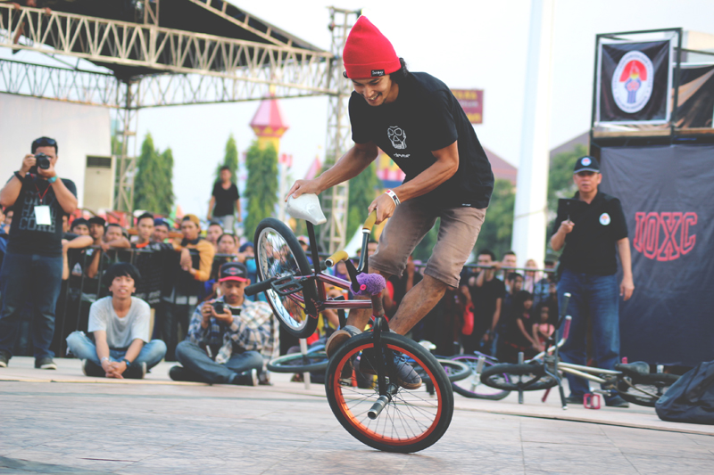IOXC Games in Semarang, Indonesia | Flatland BMX