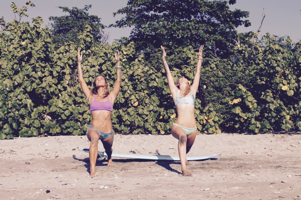 Surf Yoga Sylt Paddling Yoga