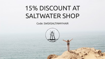 15% Discount at Saltwater Shop