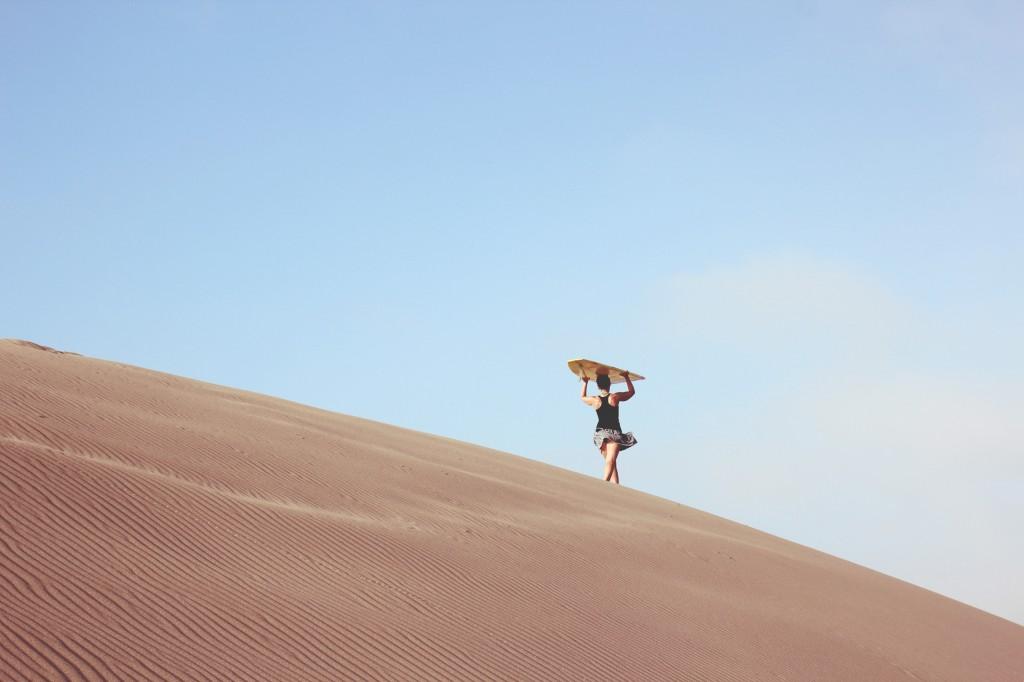 wiebke desert walk
