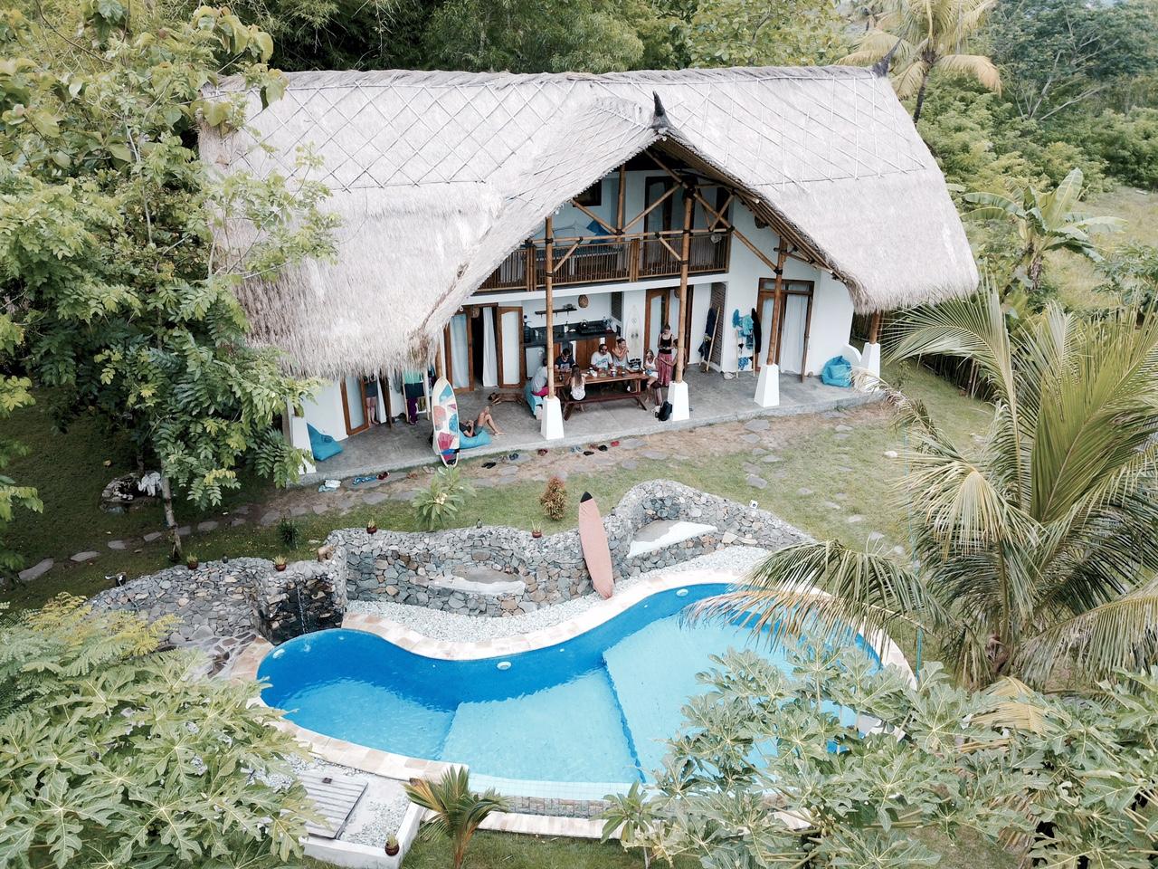 Batu Bambu von oben