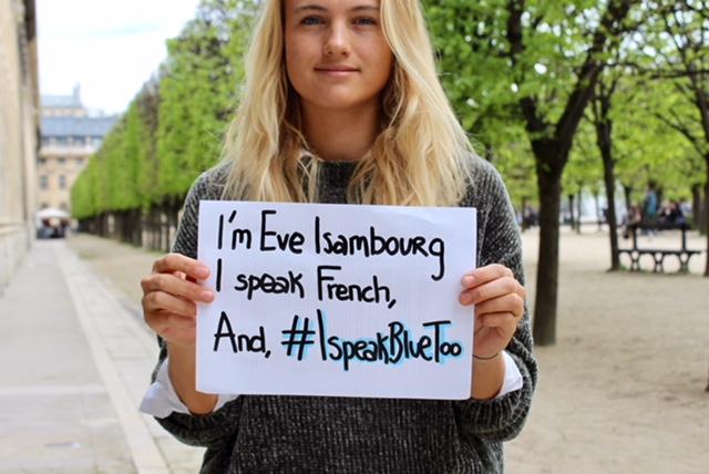 #ISpeakBlueToo